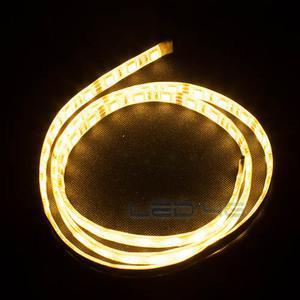Ruban LED Très puissant étanche blanc chaud en 1 et 5M
