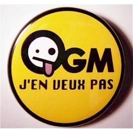 Badge OGM j'en veux pas