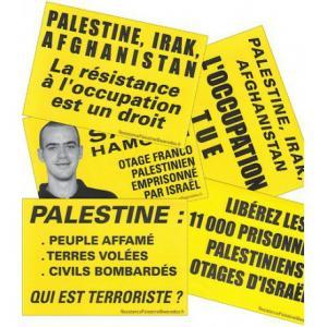 10 Stickers Palestine