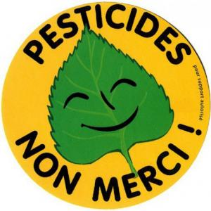 Sticker Pesticides Non Merci (grande taille)