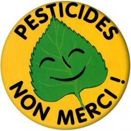 Badge Pesticides Non Merci