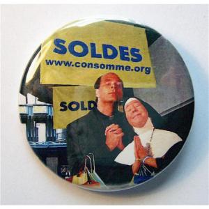 Badge Soldes