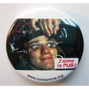 Badge J'aime la Pub