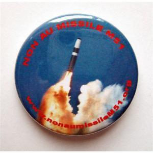Badge Non au missile M51