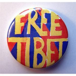 Badge Free Tibet I