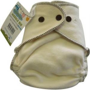 couche lavable coton biologique - modulo bio - 3-15 kg