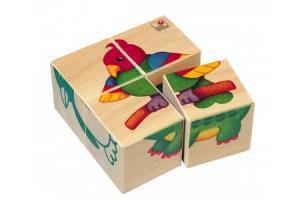Puzzle cubes Bébés animaux