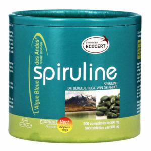 Spiruline Ecocert 500mg 500 comprimés