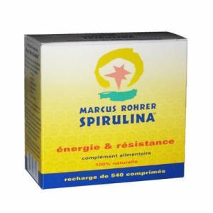 Spiruline Recharge 540 comprimés - Cure 3 mois