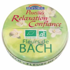 Pastilles Confiance bio sans alcool - Fleurs de Bach 50g