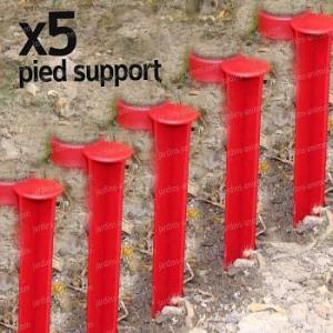 Pied support pour gouteur iriso - lot de 5