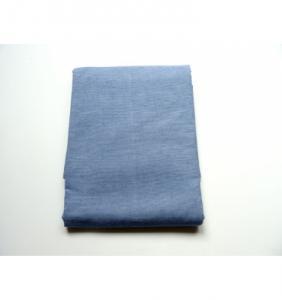 Drap plat tisse en percale Weave Stripe