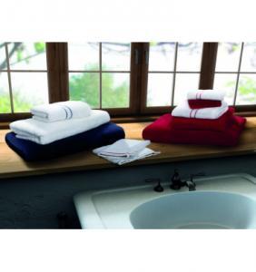 Gants de toilette Amaryllis brodé Pure