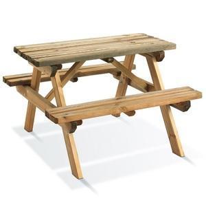 Table pique nique WAPITI BURGER