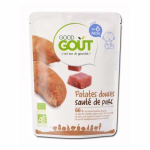 Good Gout Patate douce et Sauté de Porc