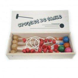 Jeu de croquet de table