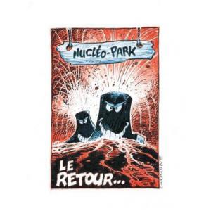 Lot de 16 cartes postales anti-nucléaires