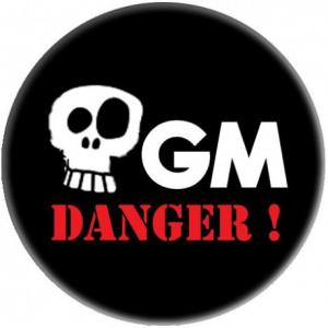 Badge OGM Danger