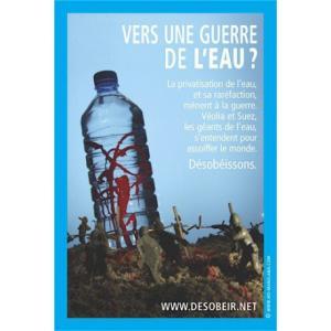 Sticker Guerre de l'eau