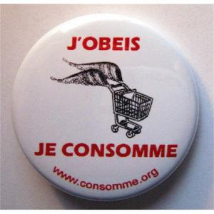 Badge Obéis Consomme