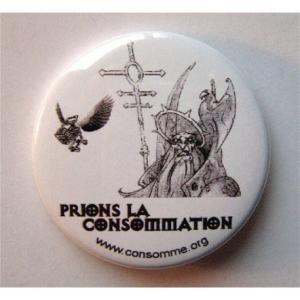 Badge Prions la Consommation