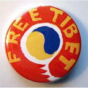 Badge Free Tibet III