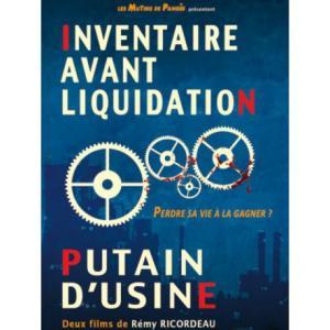 DVD Inventaire avant liquidation - Putain d'usine