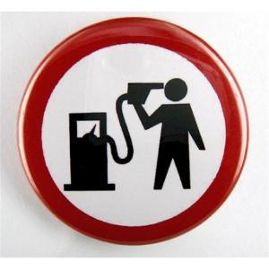 Badge fin du pétrole
