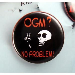 Badge OGM No problem