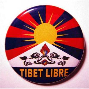 Badge Tibet Libre