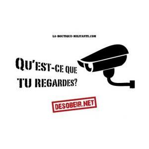 Sticker Vidéosurveillance
