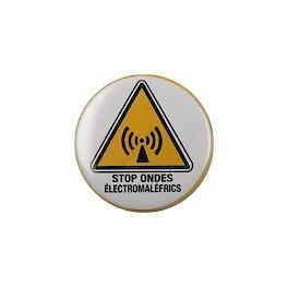 Badge stop ondes