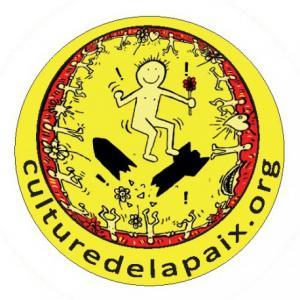 Badge culture de la paix