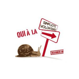 Sticker Simplicité volontaire