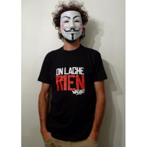 Tee-shirt On lache rien (bio)