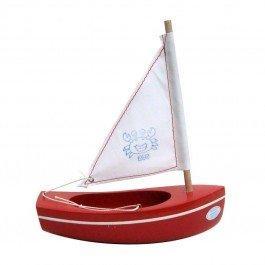 Bateau Petit Mousse rouge 17 cm
