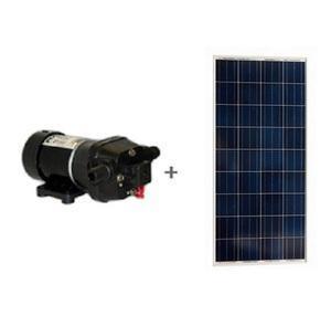 Kit pompe solaire FLOJET 19 l - min sans batterie