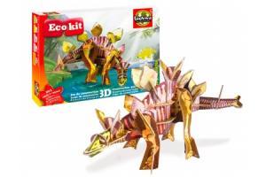 Jeu de construction Ecokit : Stegosaure