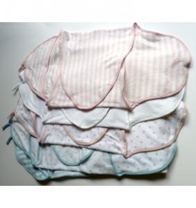 Cocon bébé bleu rayé