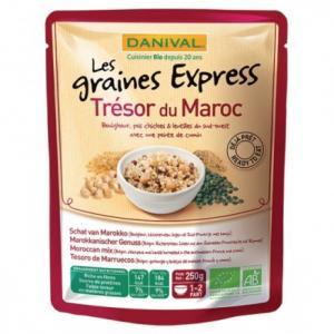 Graines Express Trésor du Maroc 250 g - Danival