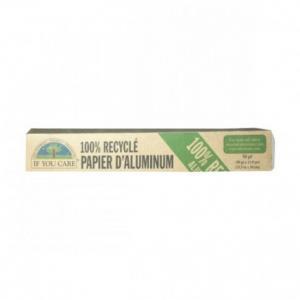 Papier aluminium 100% reçyclé