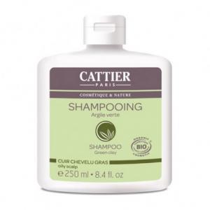 Shampooing cheveux gras argile verte - Cattier