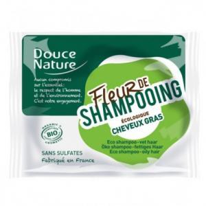 Fleur de shampooing cheveux gras - Douce nature