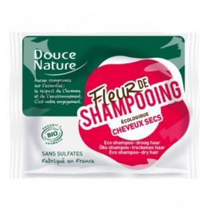 Fleur de shampooing cheveux secs - Douce nature