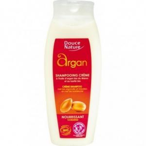 Shampooing crème à l'huile d'argan - karité - Douce nature