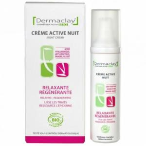 Crème de nuit relaxante - régénérante - Dermaclay