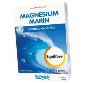 Magnésium marin ampoules - Biotechnie