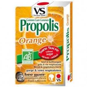 Gomme propolis Orange - Vecteur Santé