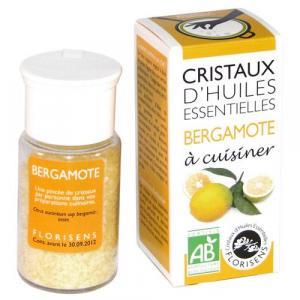 Cristaux d'huiles essentielles Bergamote - Florisens