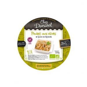 Poulet aux olives - quinoa Bio - Danival